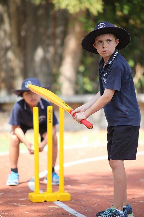 PE - Cricket